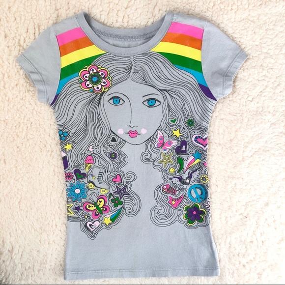 9d1827295 jcpenney Shirts & Tops | Gray Girl 45 Xs Graphic Tshirt | Poshmark
